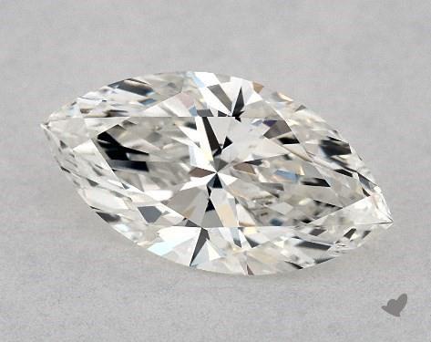 0.81 Carat H-SI1 Marquise Cut Diamond