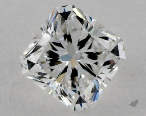 1.73 Carat F-SI1 Radiant Cut Diamond