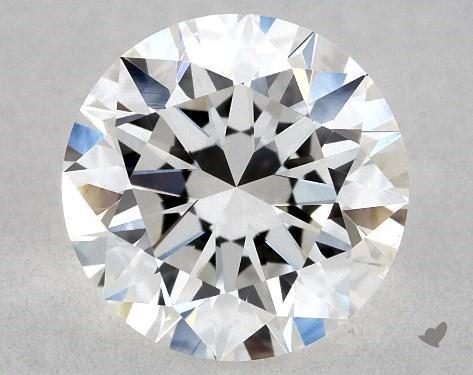 1.00 Carat E-VS1 Excellent Cut Round Diamond