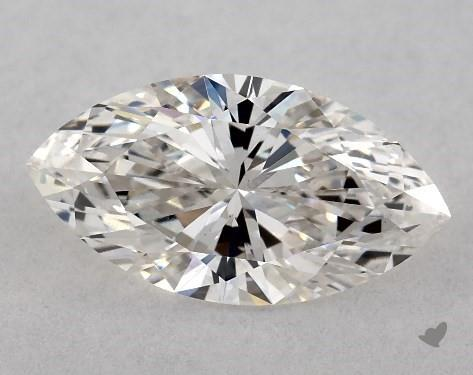 0.72 Carat H-SI1 Marquise Cut Diamond