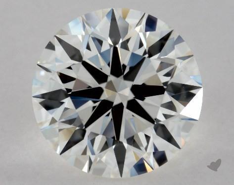 1.70 Carat H-VVS1 Excellent Cut Round Diamond