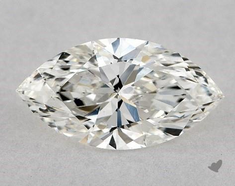0.90 Carat H-VS2 Marquise Cut Diamond