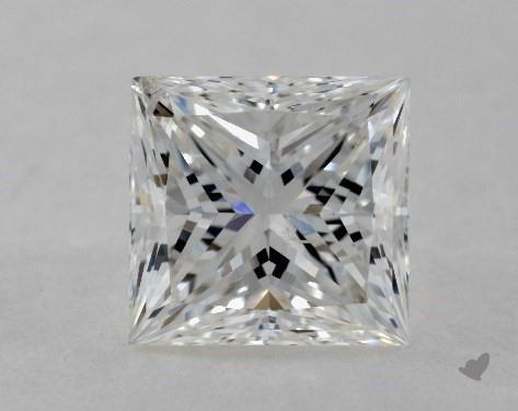 1.53 Carat G-SI2 Good Cut Princess Diamond