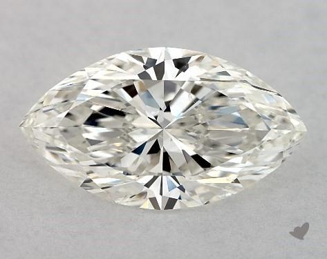 1.71 Carat H-SI1 Marquise Cut Diamond