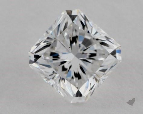 1.71 Carat D-SI1 Radiant Cut Diamond