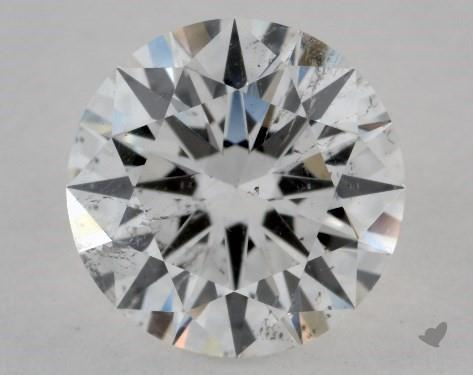 1.31 Carat F-SI2 Excellent Cut Round Diamond