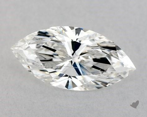 0.71 Carat F-SI2 Marquise Cut Diamond