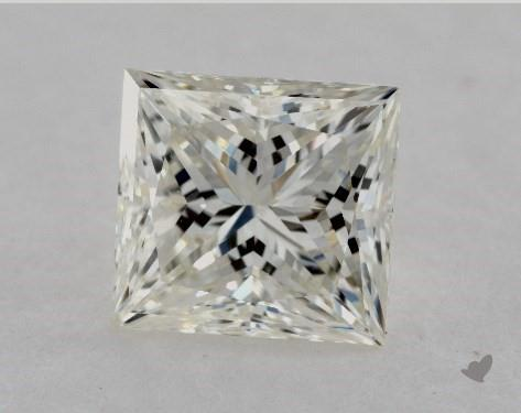 1.71 Carat J-VS2 Very Good Cut Princess Diamond