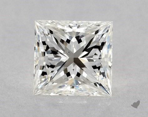 1.00 Carat H-VS2 Ideal Cut Princess Diamond