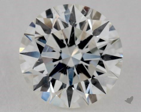 1.31 Carat I-SI1 Excellent Cut Round Diamond