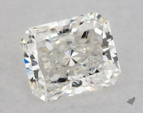 0.73 Carat H-I1 Radiant Cut Diamond
