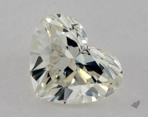 0.90 Carat J-VS2 Heart Shape Diamond