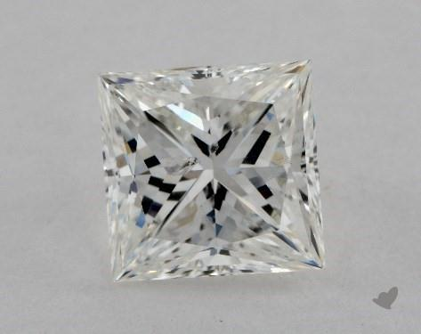 2.10 Carat H-SI2 Very Good Cut Princess Diamond