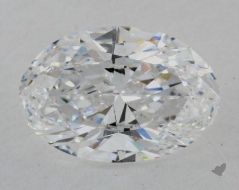1.51 Carat D-VS2 Oval Cut Diamond