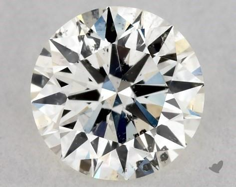 <b>0.34</b> Carat K-SI2 Excellent Cut Round Diamond