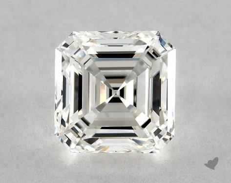 1.03 Carat H-VVS2 Square Emerald Cut Diamond