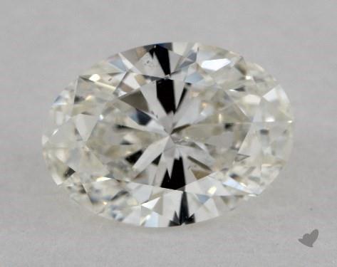1.01 Carat I-SI1 Oval Cut Diamond