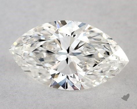 0.70 Carat F-VS2 Marquise Cut Diamond