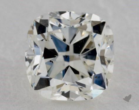 0.71 Carat J-SI1 Cushion Cut Diamond