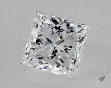 1.20 Carat E-SI1 Ideal Cut Princess Diamond