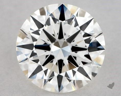 1.07 Carat H-VS2 Excellent Cut Round Diamond