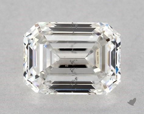 1.03 Carat F-SI1 Emerald Cut Diamond
