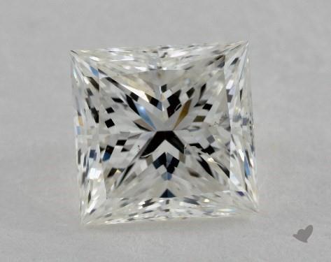 1.52 Carat H-SI1 Very Good Cut Princess Diamond