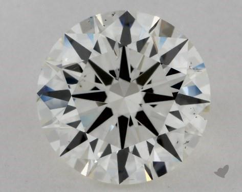 2.51 Carat J-SI1 Excellent Cut Round Diamond