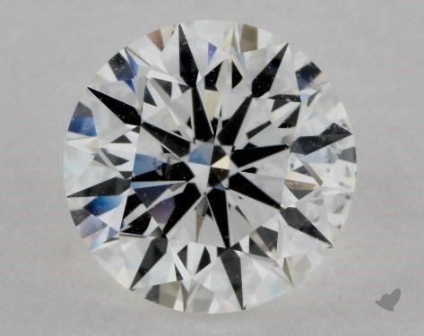 1.71 Carat H-SI1 Excellent Cut Round Diamond