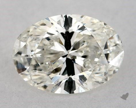 0.82 Carat I-SI2 Oval Cut Diamond