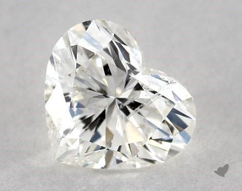 0.70 Carat I-SI2 Heart Shape Diamond