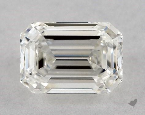 0.78 Carat H-VVS2 Emerald Cut Diamond