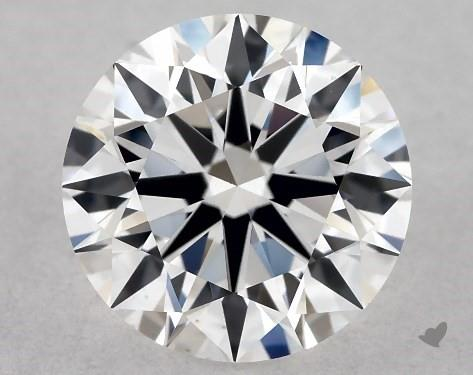0.81 Carat E-VS1 Excellent Cut Round Diamond