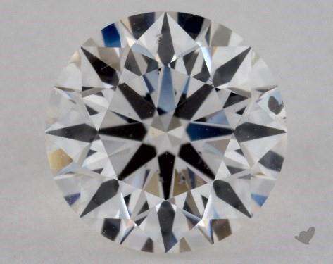 1.36 Carat G-SI1 True Hearts<sup>TM</sup> Ideal Diamond