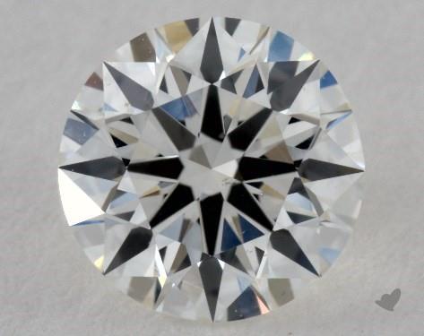 0.81 Carat G-VS2 True Hearts<sup>TM</sup> Ideal Diamond