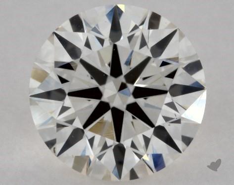 0.50 Carat I-VS2 Excellent Cut Round Diamond