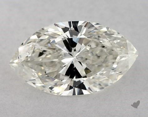 0.73 Carat J-SI1 Marquise Cut Diamond