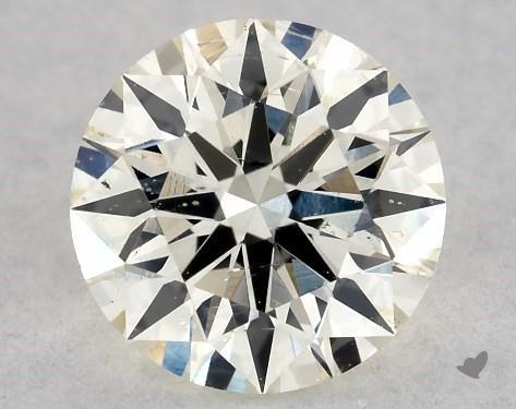 0.71 Carat J-SI2 Excellent Cut Round Diamond