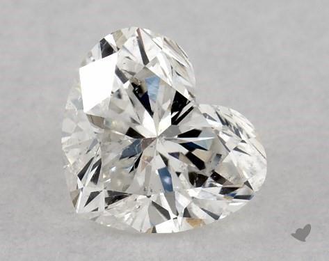 <b>0.31</b> Carat G-SI2 Heart Cut Diamond