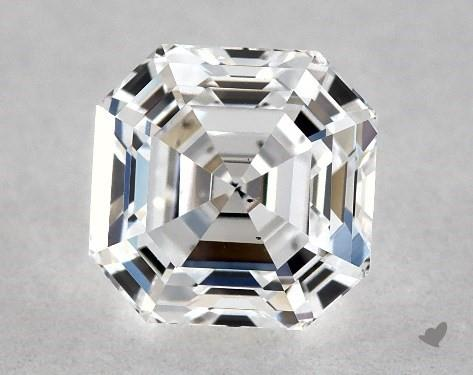 0.71 Carat D-SI1 Asscher Cut Diamond