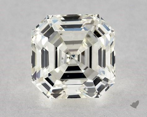 0.90 Carat K-VS2 Square Emerald Cut Diamond