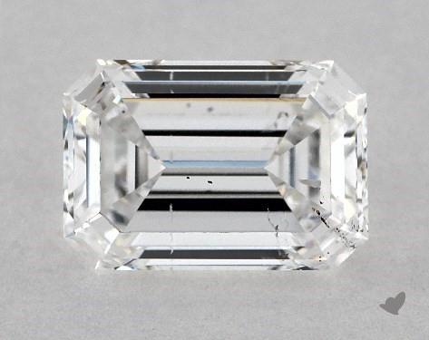1.00 Carat D-SI1 Emerald Cut Diamond