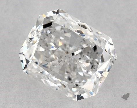 0.72 Carat E-SI2 Radiant Cut Diamond