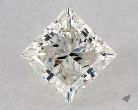0.90 Carat H-VS2 Ideal Cut Princess Diamond