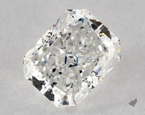 1.43 Carat F-VVS1 Radiant Cut Diamond