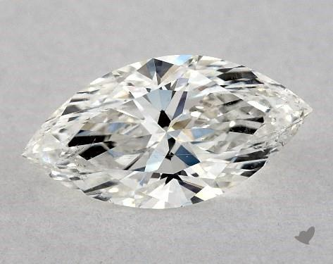 <b>0.51</b> Carat H-SI2 Marquise Cut Diamond