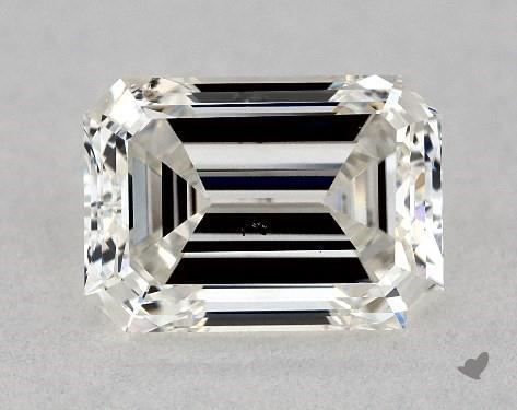 0.91 Carat H-SI2 Emerald Cut Diamond
