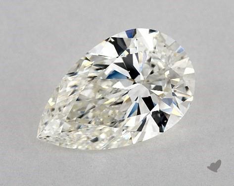 3.02 Carat H-VS2 Pear Shape Diamond