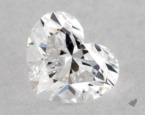 <b>0.30</b> Carat E-SI2 Heart Cut Diamond