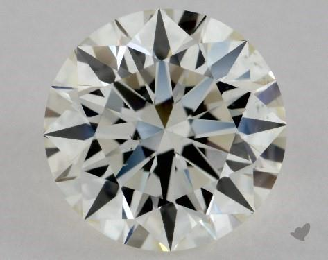 1.41 Carat J-VS2 Excellent Cut Round Diamond